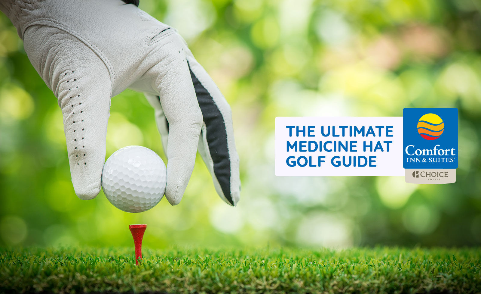 Read our ultimate golf guide and get ready to hit the links when staying at the Medicine Hat Comfort Inn and Suites.