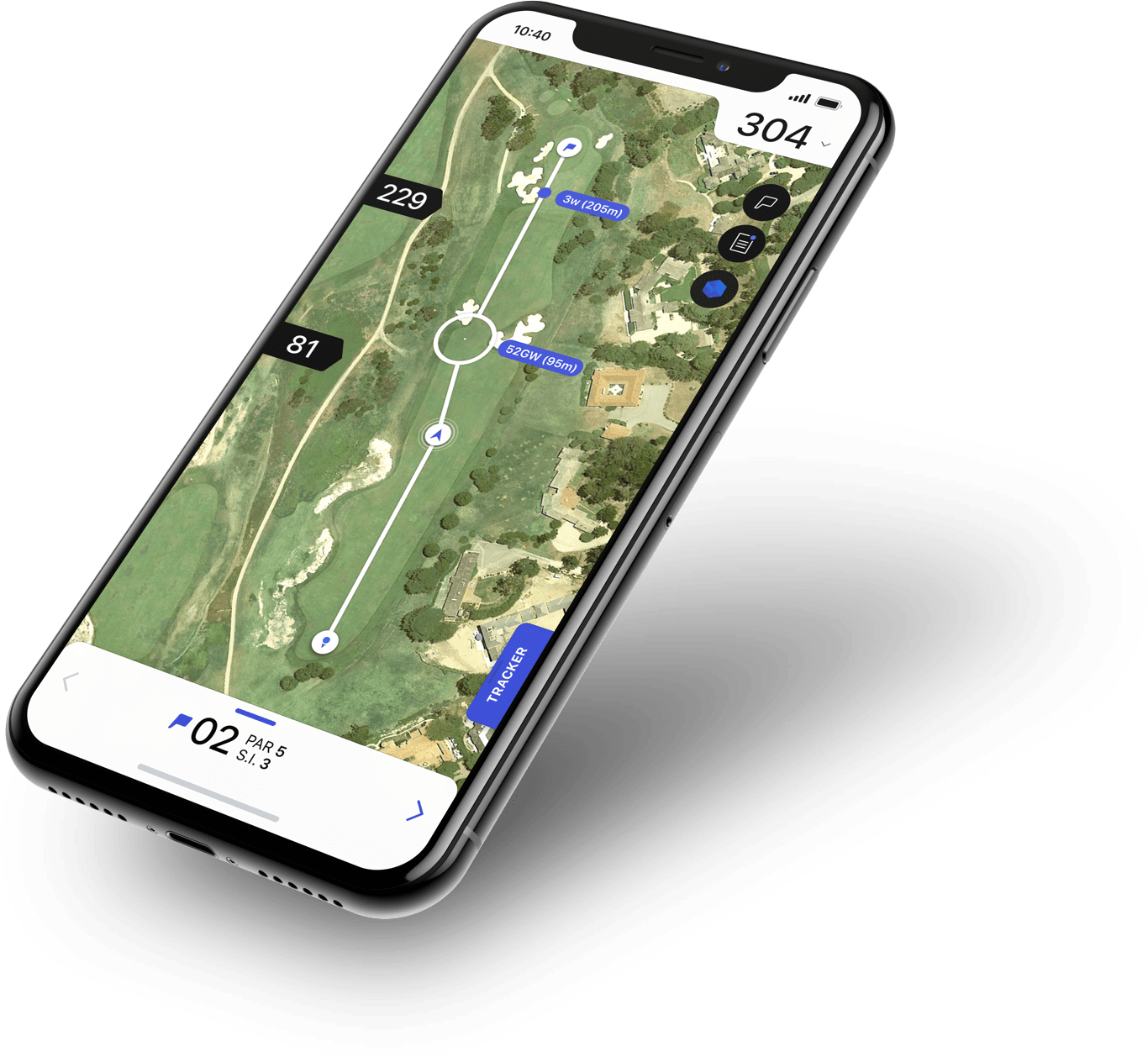 Keep score with a golf app you can download on your smartphone or smartwatch. (Featured: Hole 19 Golp App)